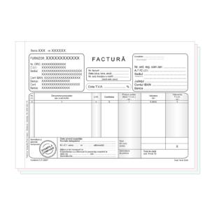 Facturi cu TVA A5 Personalizate