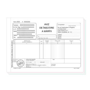 Avize Insotire Marfa A5 personalizate
